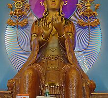 To Please the Goddess. Conishead Buddhist Centre, Cumbria, England. by David Dutton