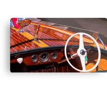Classic Chris Craft Metal Print