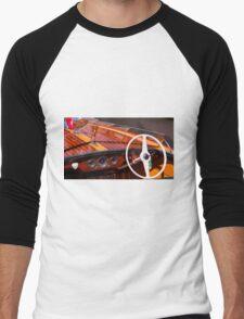 Classic Chris Craft Men's Baseball ¾ T-Shirt