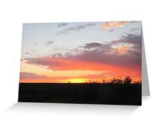 sunset 9/1/10 Greeting Card