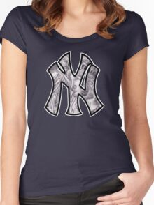 I Heart N, Why? Women's Fitted Scoop T-Shirt