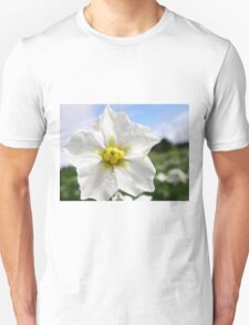 Potatoe Plant Flower T-Shirt