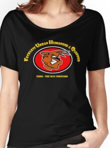 The Fox - Feckless Urban Humanoid & Quiffed Women's Relaxed Fit T-Shirt