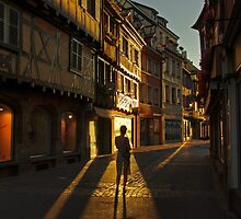 Evening silhouette by Béla Török
