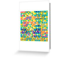 Color Smash -1 Greeting Card
