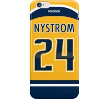 Nashville Predators Eric Nystrom Jersey Back Phone Case iPhone Case/Skin