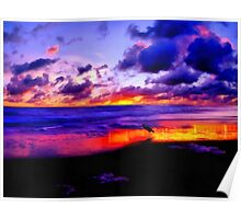 Colors of Sunset Poster