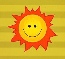 Happy Smiling Sun by Boriana Giormova
