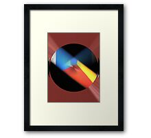 I DiD iT My WaY............................... Framed Print