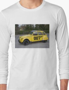 Citroën 2 CV 1981 Special Edition 007 Long Sleeve T-Shirt