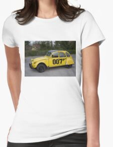 Citroën 2 CV 1981 Special Edition 007 Womens Fitted T-Shirt