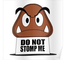 Do Not Stomp Me Poster