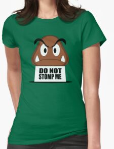 Do Not Stomp Me Womens Fitted T-Shirt