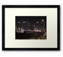 Busan in the Evening Framed Print