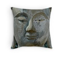Nature Buddha Throw Pillow