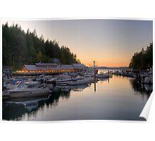 Telegraph Cove, Vancouver Island, Canada Poster