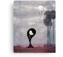 I wish I can could see you again Canvas Print