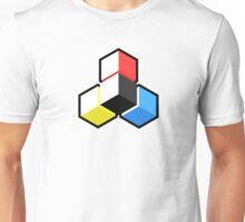 CMYK Geometric. Unisex T-Shirt