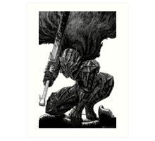 Berserker Guts Art Print