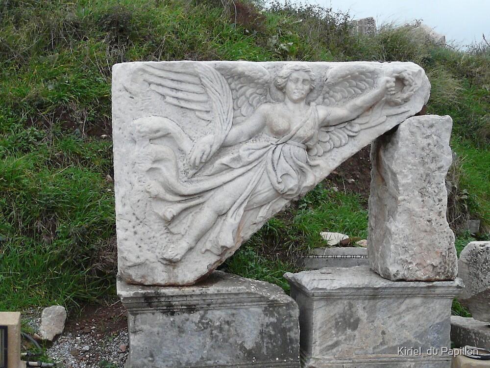 The goddess Nike at Ephesus by Kiriel