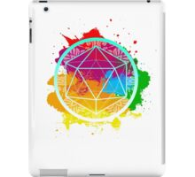 Funky Icosahedron iPad Case/Skin