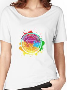 Funky Icosahedron Women's Relaxed Fit T-Shirt