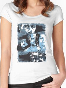 """""""The End"""" Women's Fitted Scoop T-Shirt"""