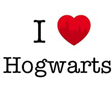 I love Hogwarts by Caos0