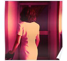Carmen de espaldas en película I.R. Poster