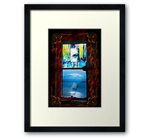 View from my dream Framed Print