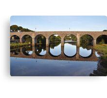 Bridge in Newport, Co. Mayo, Ireland Canvas Print