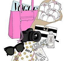 bag and accessories  by Emily Grimaldi
