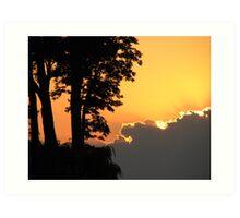Lake Ontario Sunset Art Print