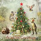 An Aussie Christmas Gathering by Trudi's Images