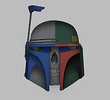 Deceased Jango and Boba Fett by Will O'Shaughnessy