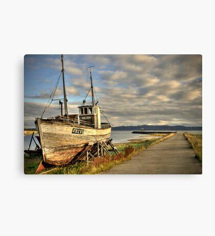 HDR - fishingboat Canvas Print