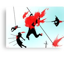 Killing in the name of Canvas Print