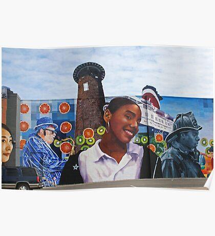 Philadelphia Mural Project Poster