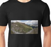 Curves of Stelvio Pass Unisex T-Shirt