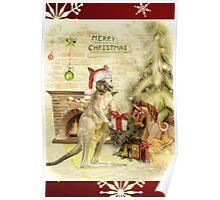 Joeys First Christmas Poster