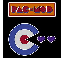 Pac-Mod Photographic Print