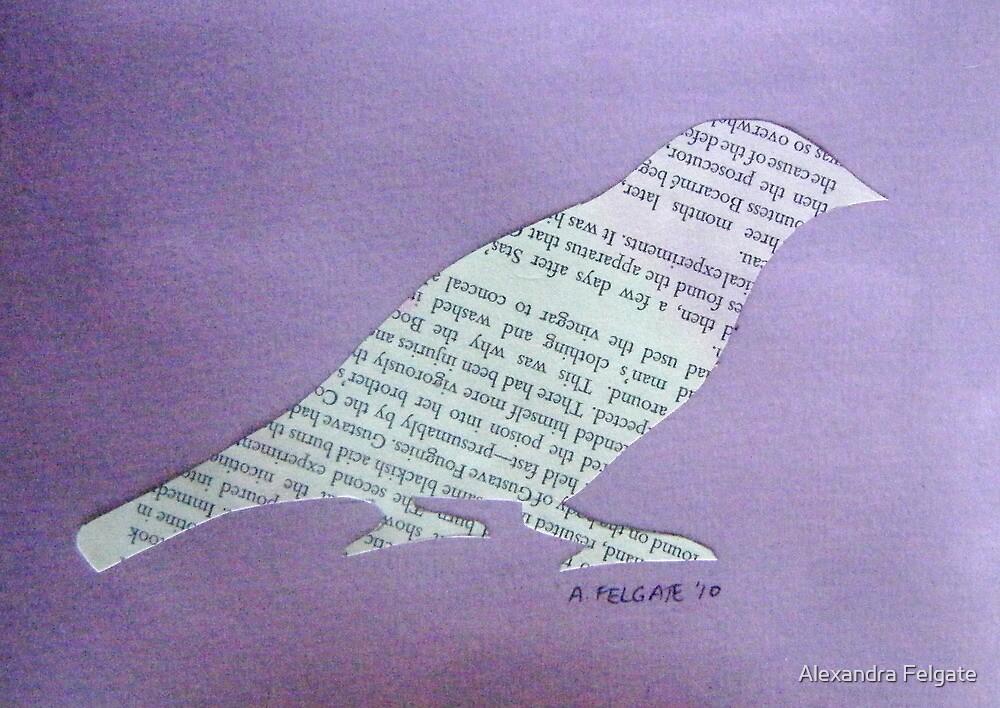 Wordy Birdy  by Alexandra Felgate