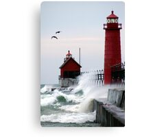 Lighthouse on the Lake Canvas Print