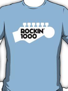 Rockin 1000 Black T-Shirt