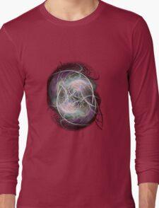 fractal fiberball Long Sleeve T-Shirt