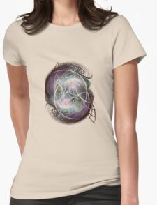 fractal fiberball Womens Fitted T-Shirt