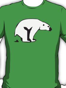 Polar beer is pooping T-Shirt