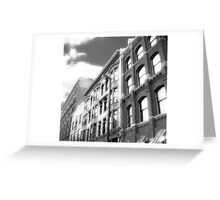 Cityscapes - Between the shades of grey Greeting Card