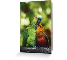 Parrothood Greeting Card