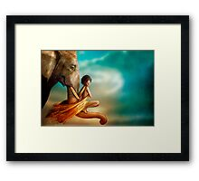 In You I Trust Framed Print